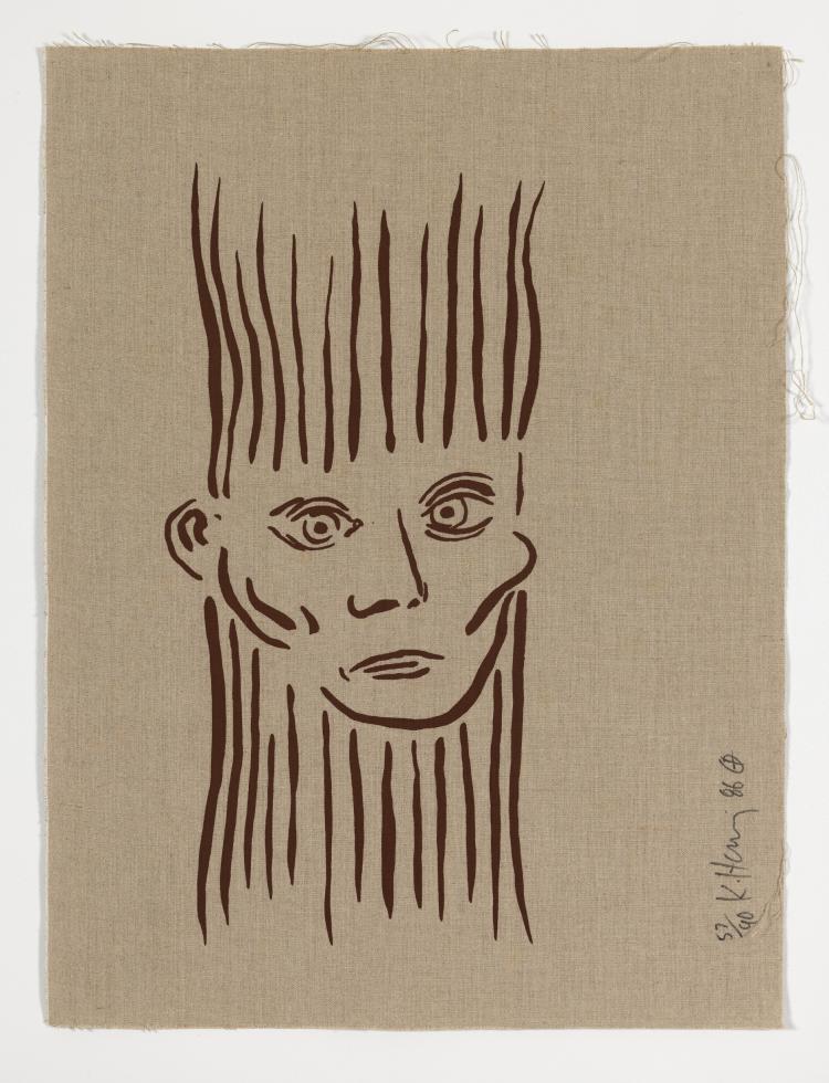 Keith Haring (1958-1990) Joseph Beuys (Littmann p.61)