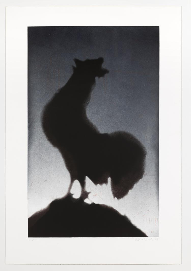Ed Ruscha (b.1937) Rooster (Engberg 159)