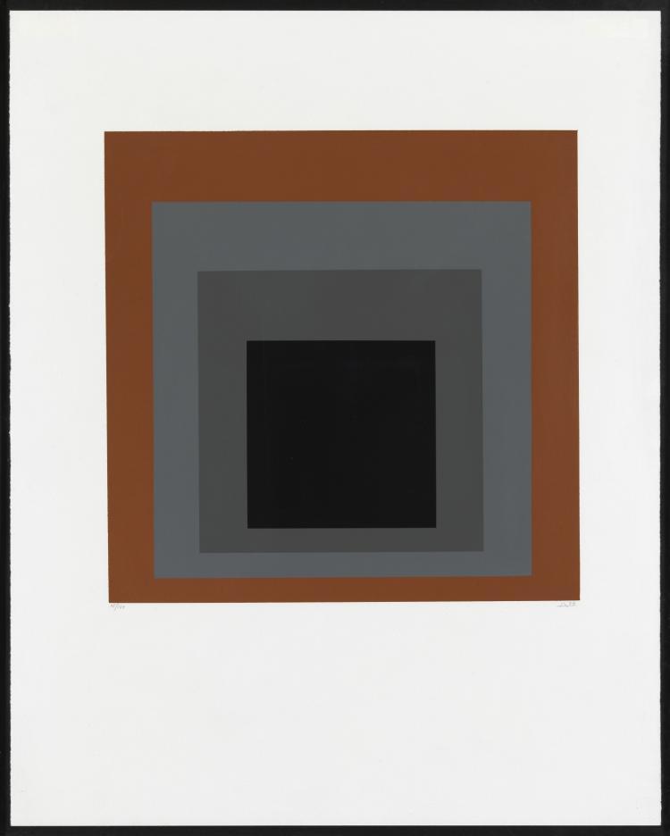 Josef Albers (1888-1976) Homage a Carre (Danilowitz 160.4)