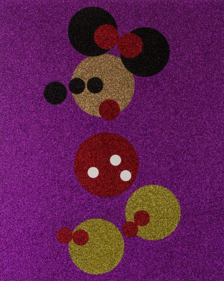 δ Damien Hirst (b.1965) Minnie (Pink Glitter)