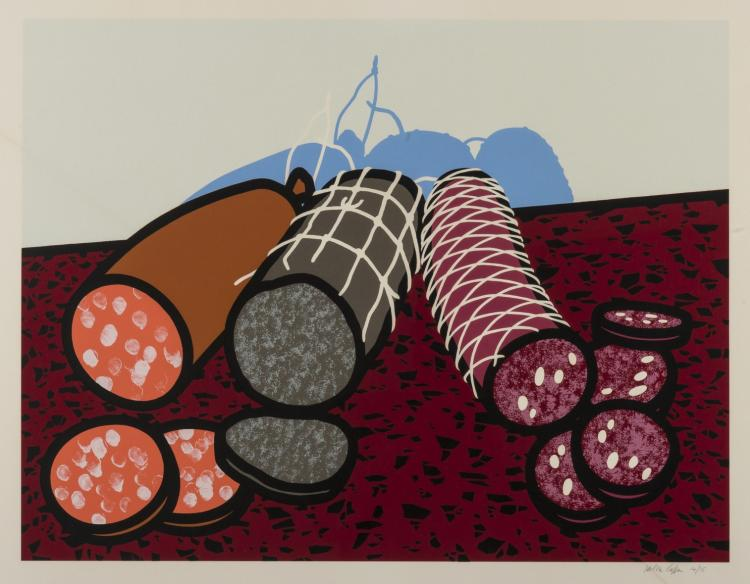 δ Patrick Caulfield (1936-2005) Sausage; Three Sausages; Big Sausage (Cristea 53, 54, 55)
