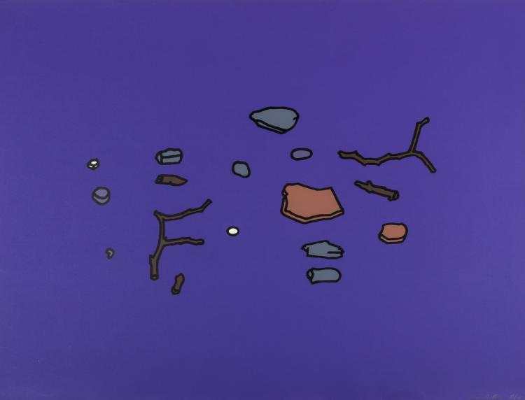 δ Patrick Caulfield (1936-2005) Found Objects (Cristea 10)