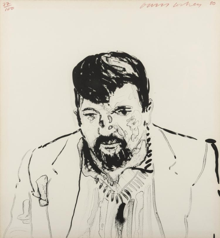 δ David Hockney (b.1937) John Hockney (MCA Tokyo 242)