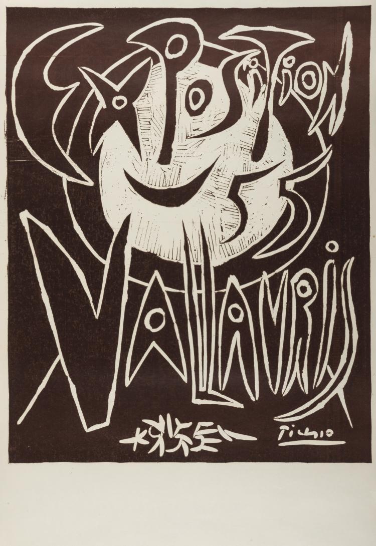 δ Pablo Picasso (1881-1973) Exposition 55 Vallauris (Baer 1032B)