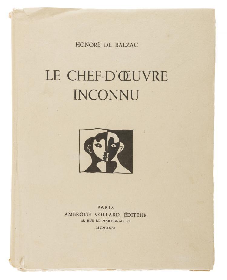 δ Pablo Picasso (1881-1973) Honoré de Balzac, Le Chef d'OEuvre Inconnu (Bloch 82-94; Baer 123-135; Cramer books 20)