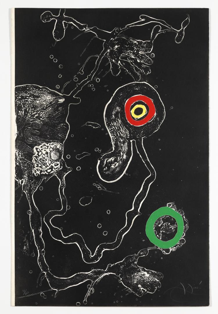 δ Joan Miro 1893-1983) Barcelona plate 7 (Dupin 598)