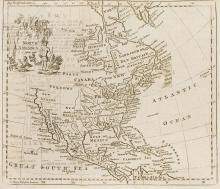 Atlases.- World.- Salmon (Thomas) A New Geographical and Historical Grammar, first edition, William Johnston, 1749.