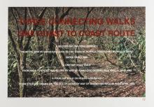 Hamish Fulton (b.1946) Three Connecting Walks