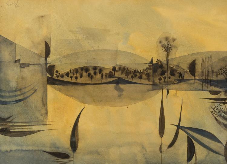 Alan Reynolds (1926-2014) Untitled