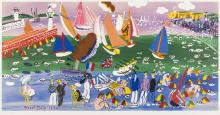 Raoul Dufy (1877-1953) (after) Baie de Ste.-Adresse and Anémones
