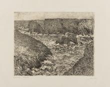 Claude Monet (1840-1926) & George-William Thornley (1875-1935) La Côte Rocheuse