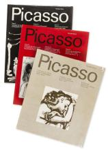 Pablo Picasso (1881-1973) by Georges Bloch Catalogue of the Printed Graphic Work I,II,IV
