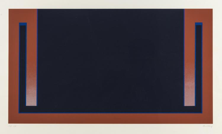 Cecil King (1921-1986) Blue (from The Dubai Series)