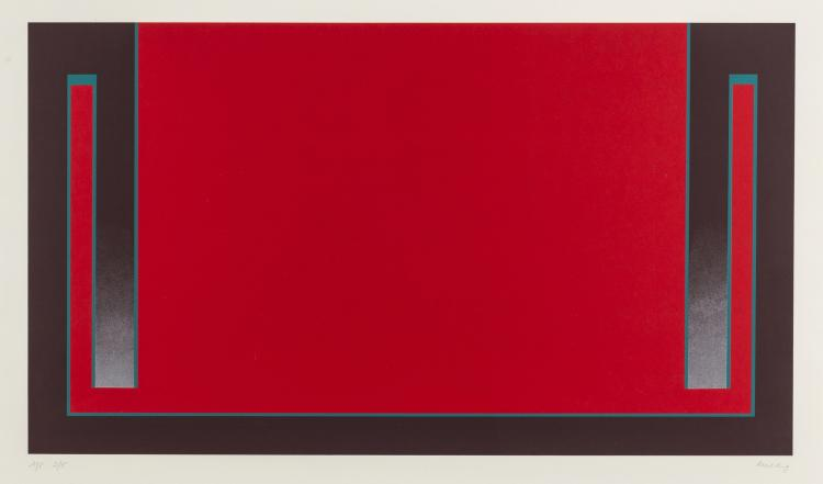 Cecil King (1921-1986) Red (from The Dubai Series)