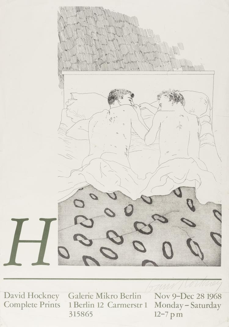 David Hockney (b.1937) (after) Poster for The Complete Prints