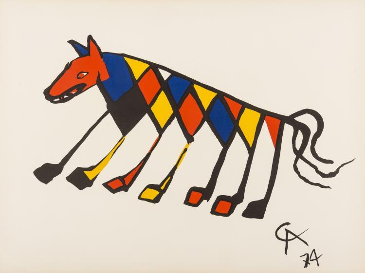 Alexander Calder (1898-1976) Convection, Beastie, Skybird