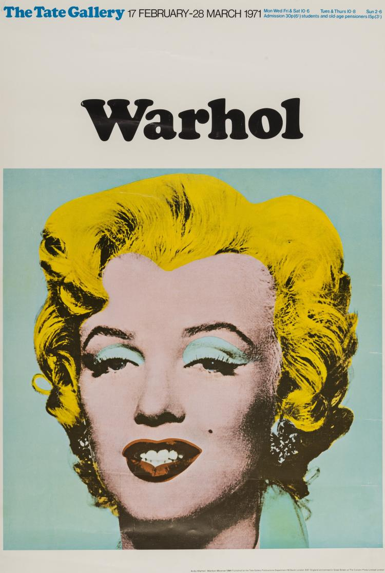 Andy Warhol (1928-1987) (after) Poster for the Tate Gallery