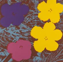 Andy Warhol (1928-1987) (after) Flowers (Sunday B. Morning)