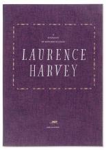 Matthew Brannon (b. 1971) Laurence Harvey - Motion Pictures, White Wine, Older Women & Long Thin Cigarettes