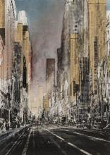 Gottfried Salzmann (b.1943) Hong Kong I; New York: Last Chance; Yellow Sky