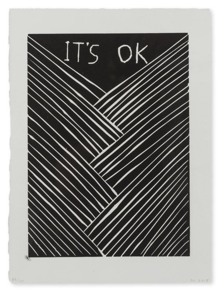 David Shrigley (b.1968) It's OK