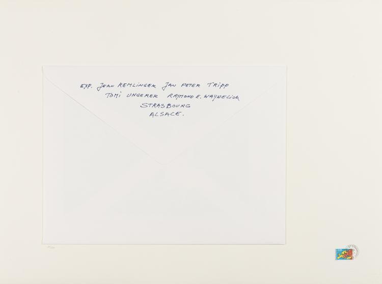 Der Stresburger Block. Jean Remlinger, Jan Peter Tripp, Tomi Ungerer, and Raymond E. Waydelich Untitled