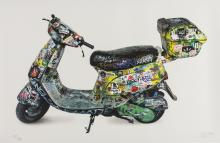 Invader (b.1969) Scooter