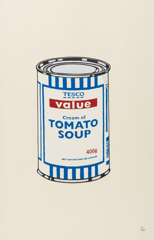 Banksy (b.1974) Soup Can (Original)