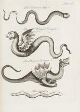 Owen (Charles) An Essay towards a Natural History of Serpents, first edition, 7 eng. plates, cont. calf, 4to, for the Author, sold by John Gray, 1742.