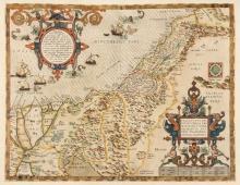 Middle East.- Ortelius (Abraham), Palestinae sive Totius Terrae Promissionis Nova Descriptio, 1592.