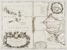 Cape Verde.- Coronelli (Vincenzo Maria), Bocche del Fiume Negro et Isole di Capo Verde, circa 1696.