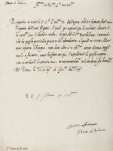 Carafa (Giovanni) Autograph Letter signed to Cosimo I de' Medici, 1558; and 13 other Italian letters (14).