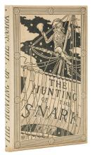 Dodgson (Charles Lutwidge) The Hunting of the Snark, first edition, with original printed dust-jacket, 1876.