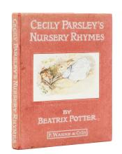 Potter (Beatrix) Cecily Parsley's Nursery Rhymes, first edition, [1922].