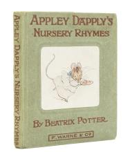 Potter (Beatrix) Appley Dapply's Nursery Rhymes, first edition, 1917.