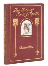 Potter (Beatrix) The Tale of Timmy Tiptoes, first edition, deluxe issue, 1911.