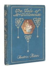 Potter (Beatrix) The Tale of Mrs. Tittlemouse, first edition, deluxe issue, 1910.