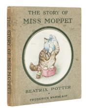 Potter (Beatrix) The Story of Miss Moppet, first edition in book form, [1916].