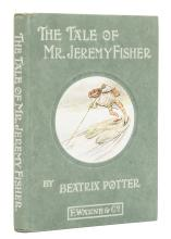 Potter (Beatrix) The Tale of Mr. Jeremy Fisher, first edition, 1906.