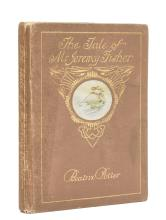 Potter (Beatrix) The Tale of Mr. Jeremy Fisher, first edition, deluxe issue, 1906.