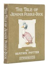 Potter (Beatrix) The Tale of Jemima Puddle-Duck, first edition, 1908.