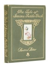 Potter (Beatrix) The Tale of Jemima Puddle-Duck, first edition, deluxe issue, 1908.