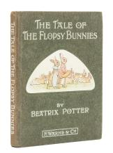 Potter (Beatrix) The Tale of the Flopsy Bunnies, first edition, 1909.
