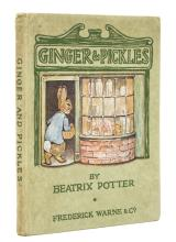 Potter (Beatrix) Ginger & Pickles, first edition, 1909.