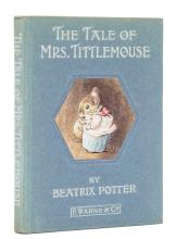 Potter (Beatrix) The Tale of Mrs. Tittlemouse, first edition, glacine dust-jacket, [1910].