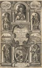 Baker (Sir Richard) Chronicle of the Kings of England from the Time of the Romans Government unto the Raigne of...King Charles, for Daniel Frere, 1643 & others, history, many with references to Bacon, v.s. (12)
