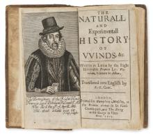 Winds & weather.- Bacon (Sir Francis) The Naturall and Experimentall History of Winds, &c., first edition in English, printed for Humphrey Moseley, at the Princes Armes in St Pauls Church-yard; and Tho. Dring at the George in Fleet-street, 1653.