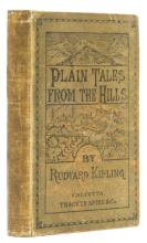 Kipling (Rudyard) Plain Tales From the Hills, first edition, first issue, Calcutta, 1888.