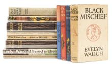Waugh (Evelyn) Black Mischief, first edition, 1932; and 11 others by the same (12)