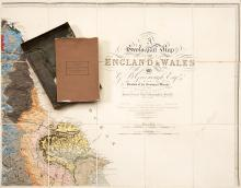 Geology.- Greenough (George Bellas) A Geological Map of England & Wales, second edition, 1839-40.